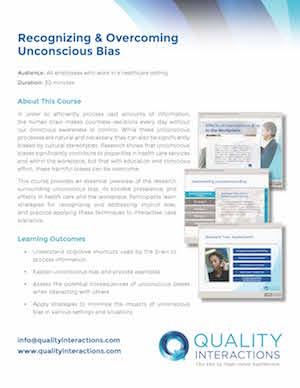 Recognizing & Overcoming Unconscious Bias