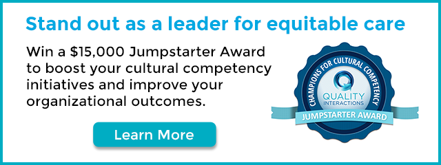 Learn about our Jumpstarter Award for cultural competency training